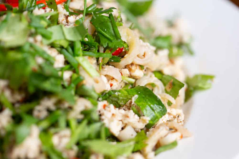authentic larb gai recipe