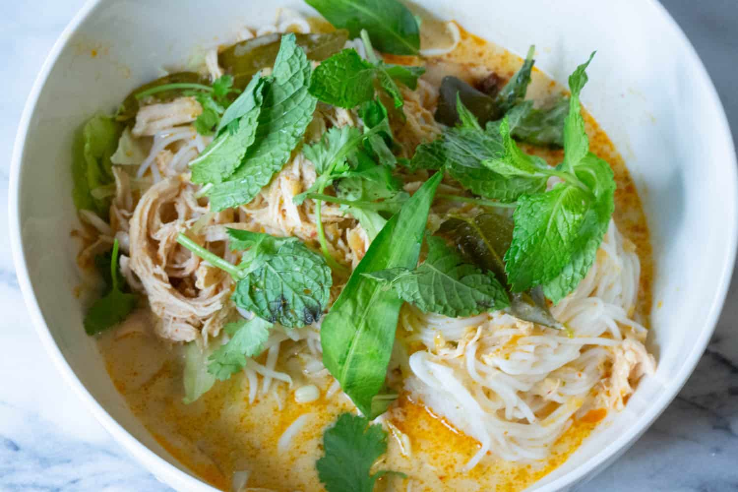 thai red curry noodle