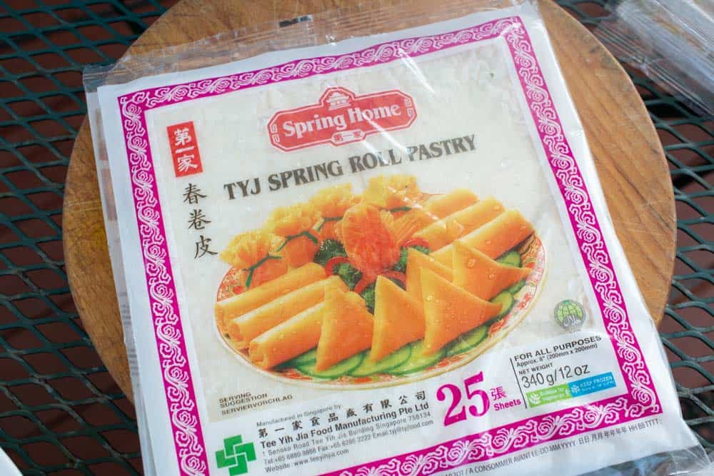 wrap vietnamese egg rolls authentic wrapper spring rolls at asian grocer