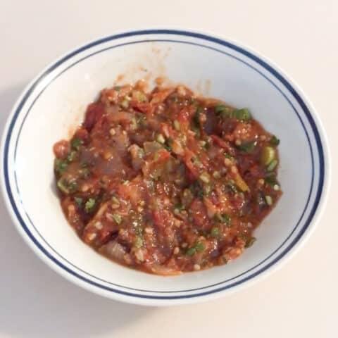 Jaew Sauce (Lao Jaew Mak Len Spicy Dipping Sauce)