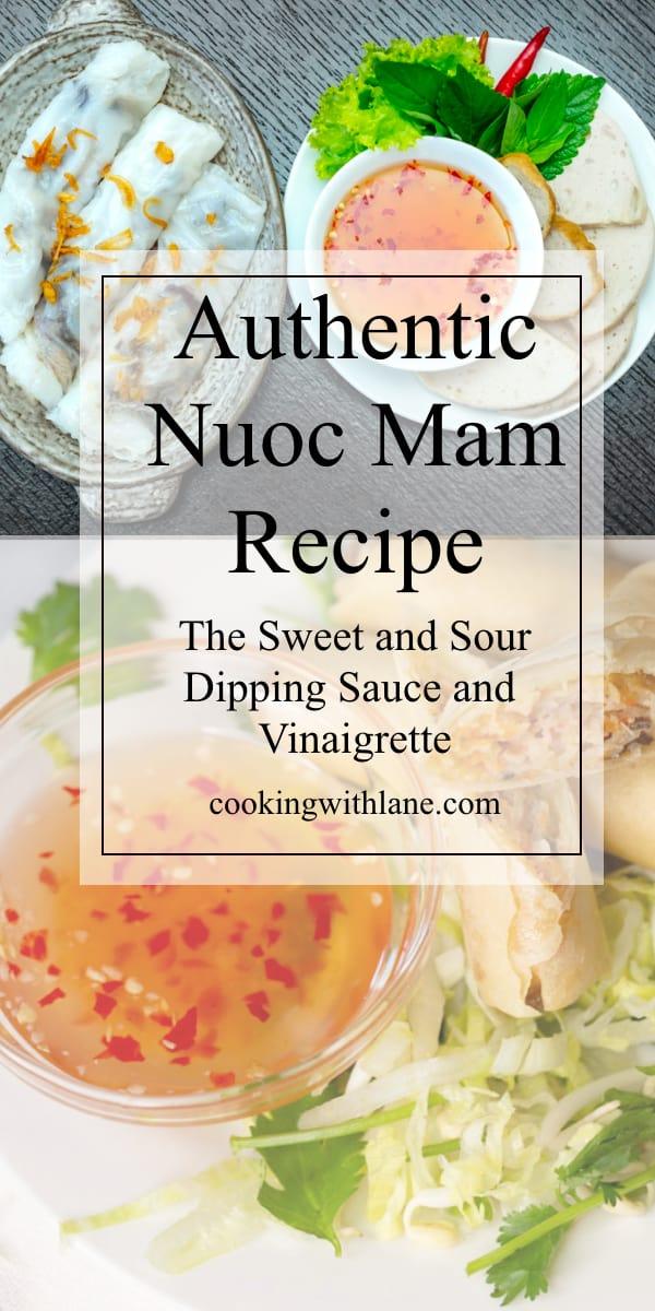 nuoc mam cham recipe vietnamese