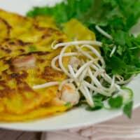Banh Xeo Recipe - Authentic Vietnamese Crepe Pancake