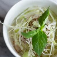 Authentic Vietnamese Bun Bi Recipe