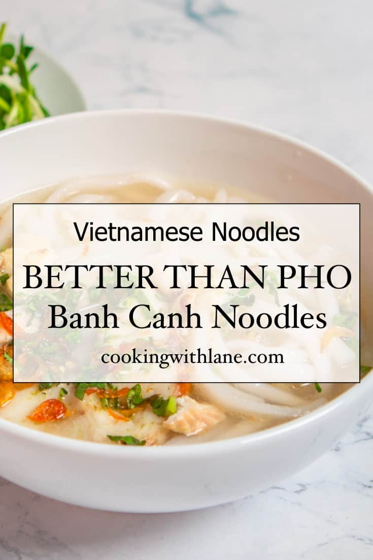 Banh canh soup recipe - Vietnamese Noodles