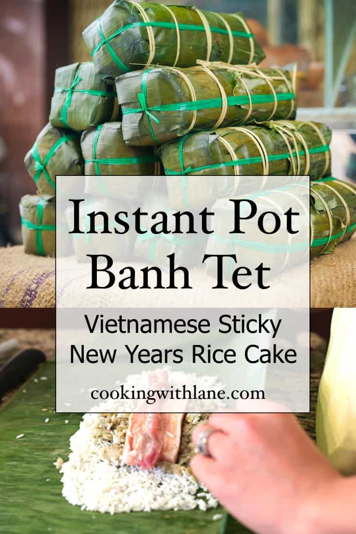 instant pot banh tet recipe - quick and easy
