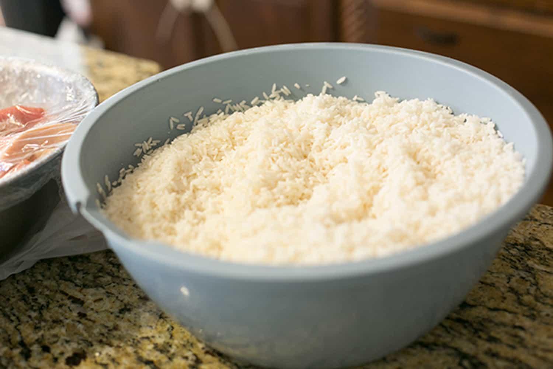 banh tet rice