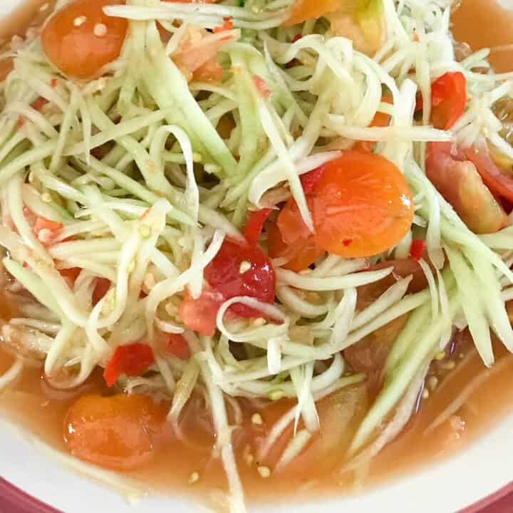 lao papaya salad recipe