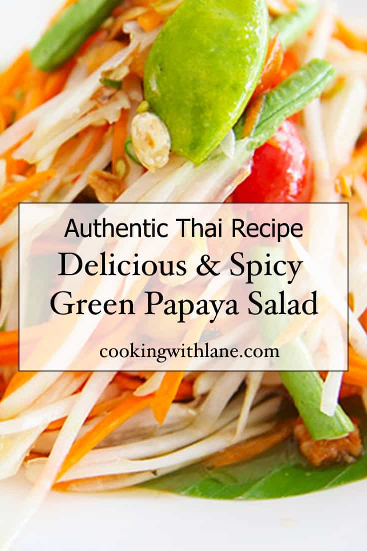 thai green papaya salad recipe easy simple