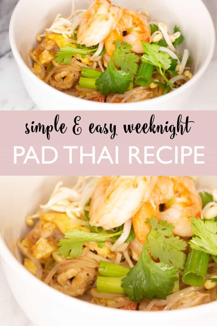 premmade recipe for homemade pad thai