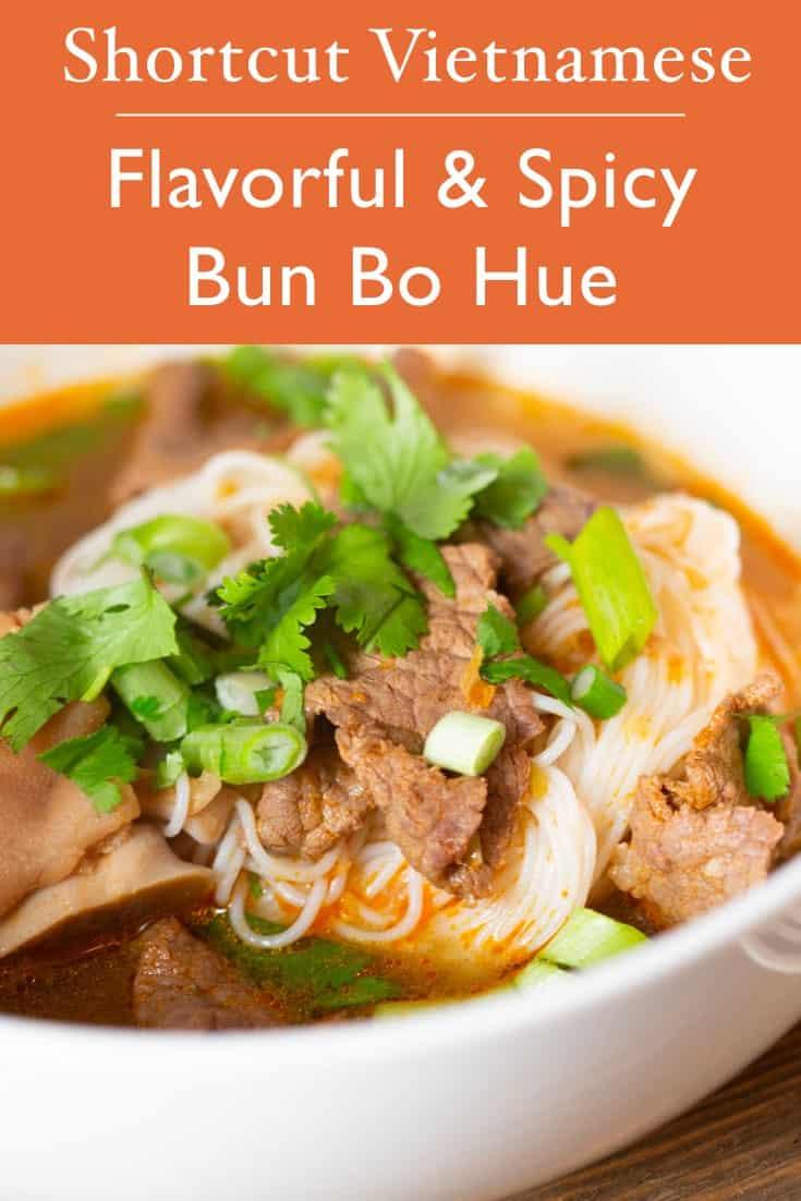 bun bo Hue vietnamese noodle soup