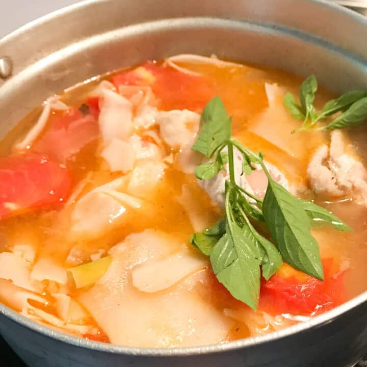 Lao Sour Bamboo Stew - Gaeng No Mai