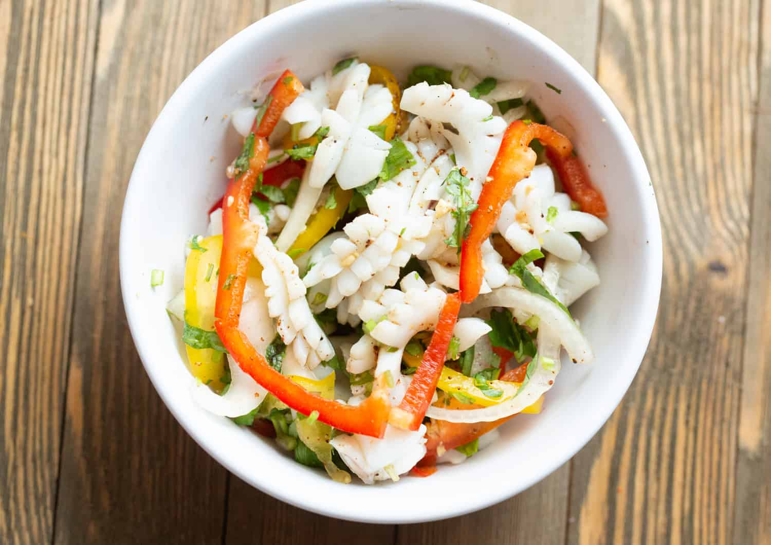 authentic thai spicy squid salad recipe