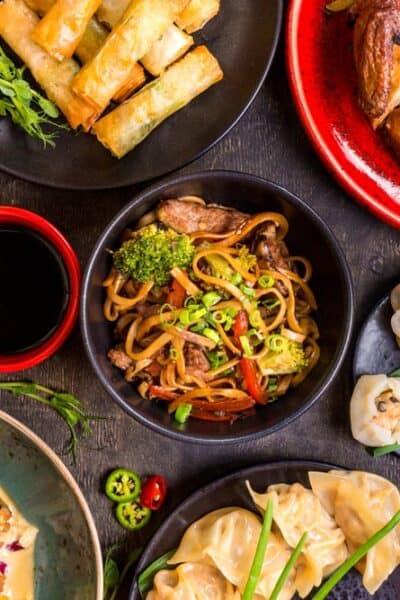 Chinese food versus Vietnamese food