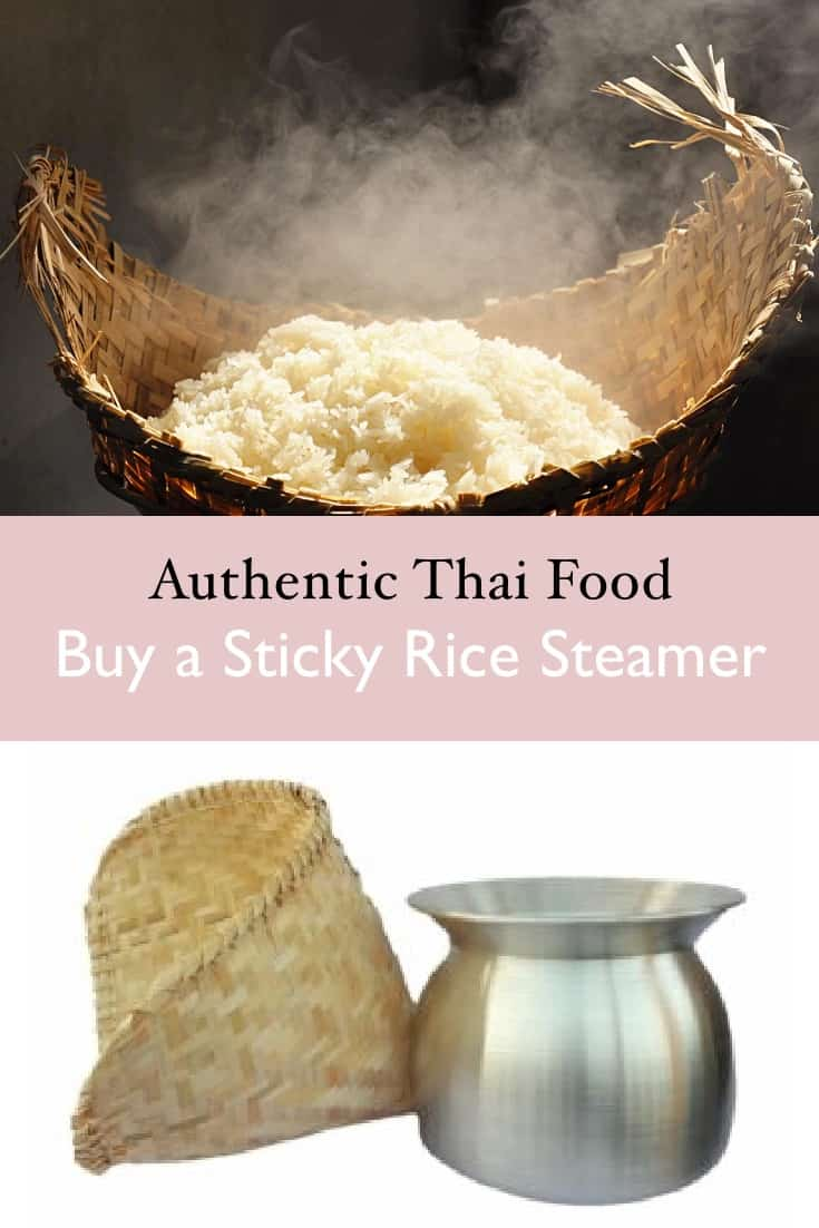 Choosing a sticky rice steamer & basket-1