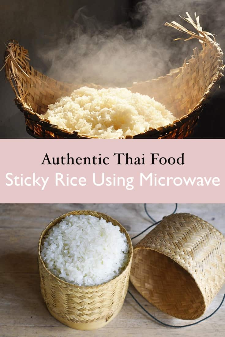 how to microwave sticky rice