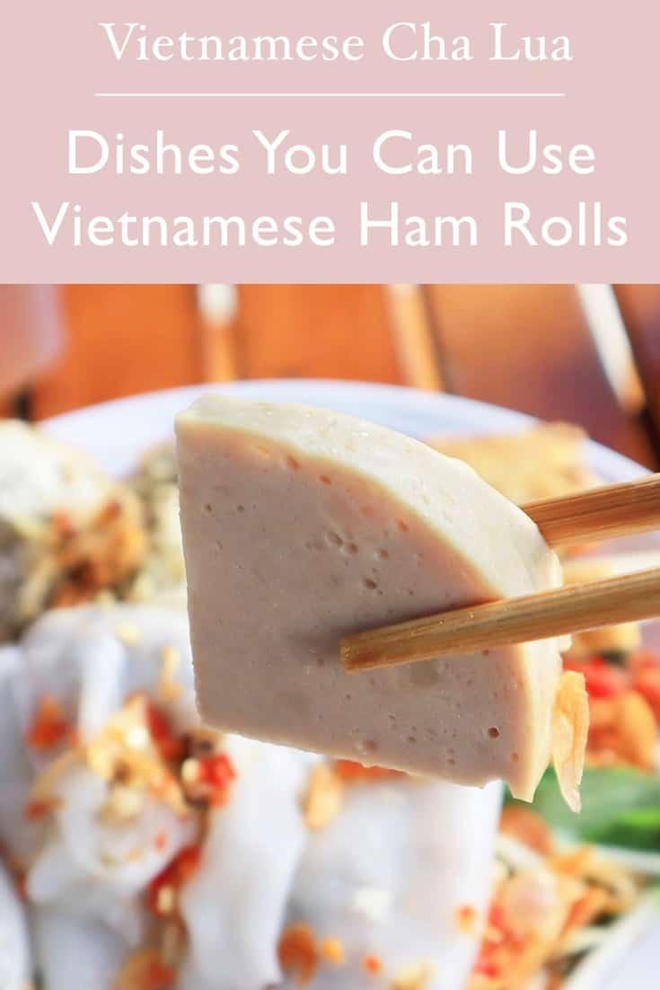 Vietnamese Ham Roll and Sausage