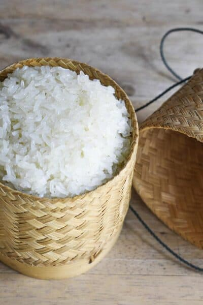 sticky rice in pressure cooker instant pot
