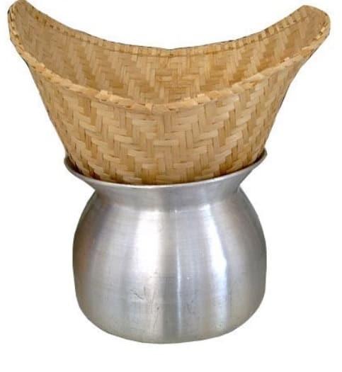 sticky rice basket steamer