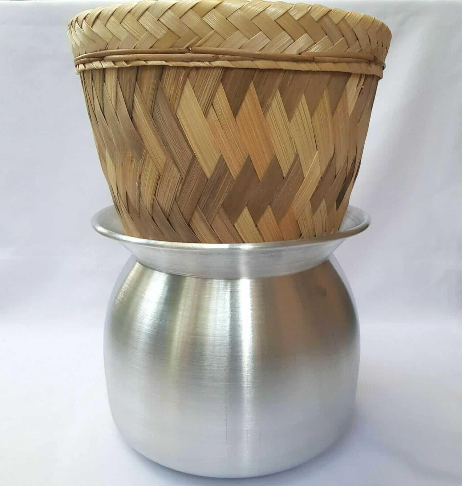 sticky rice steamer basket narrow