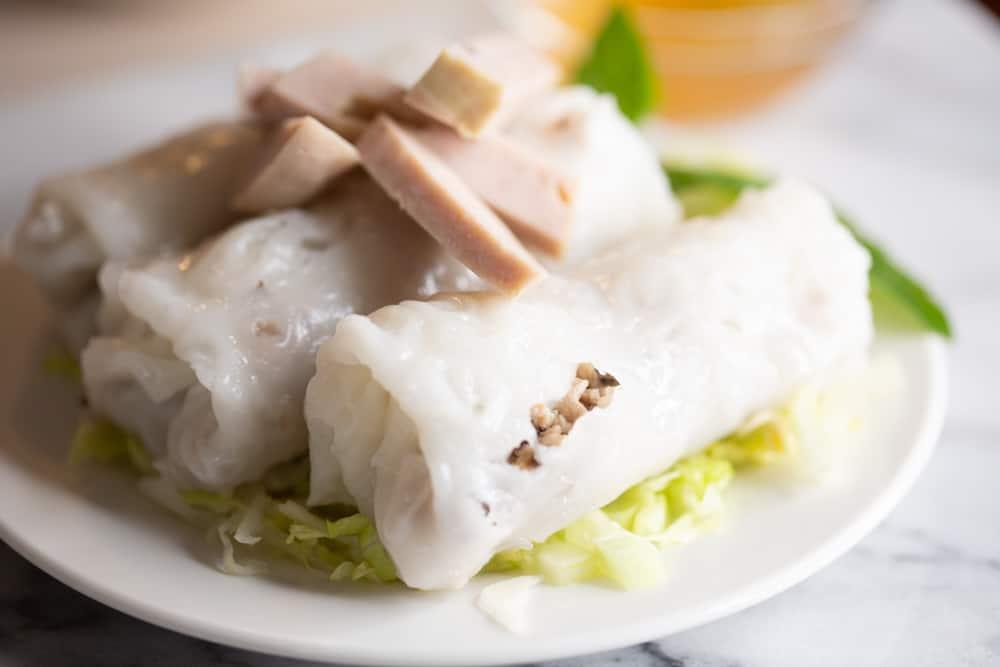 cha lua vietnamese pork ham sausage roll