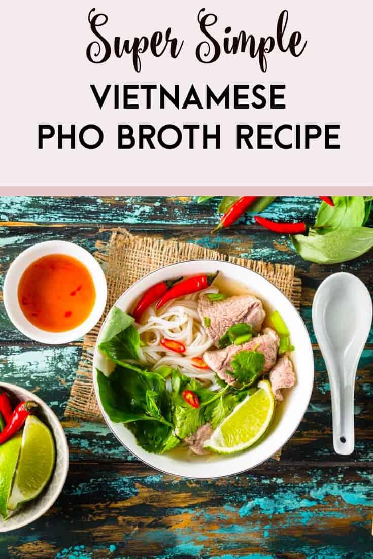 Vietnamese Pho Broth Recipe