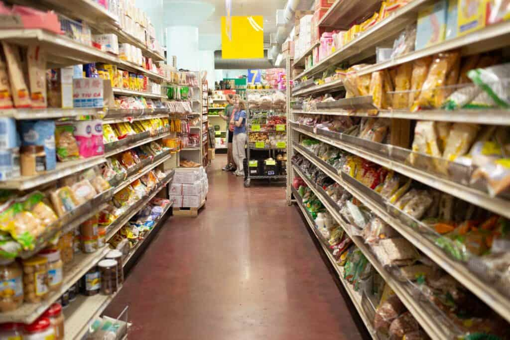 bags of rice - what to get at an asian grocery store 097