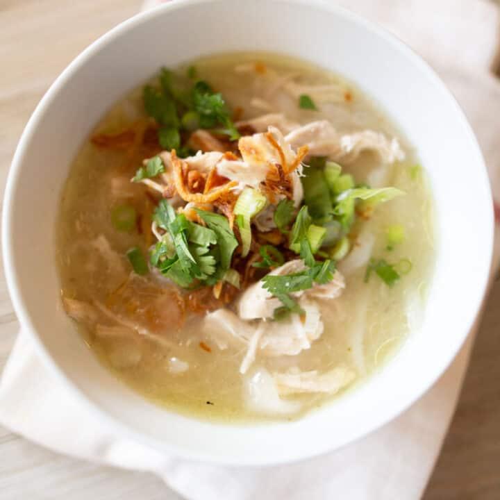 lao khao piak sen authentic noodle soup
