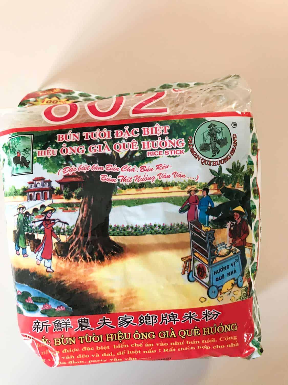 rice vermicelli noodles versus rice noodle sticks