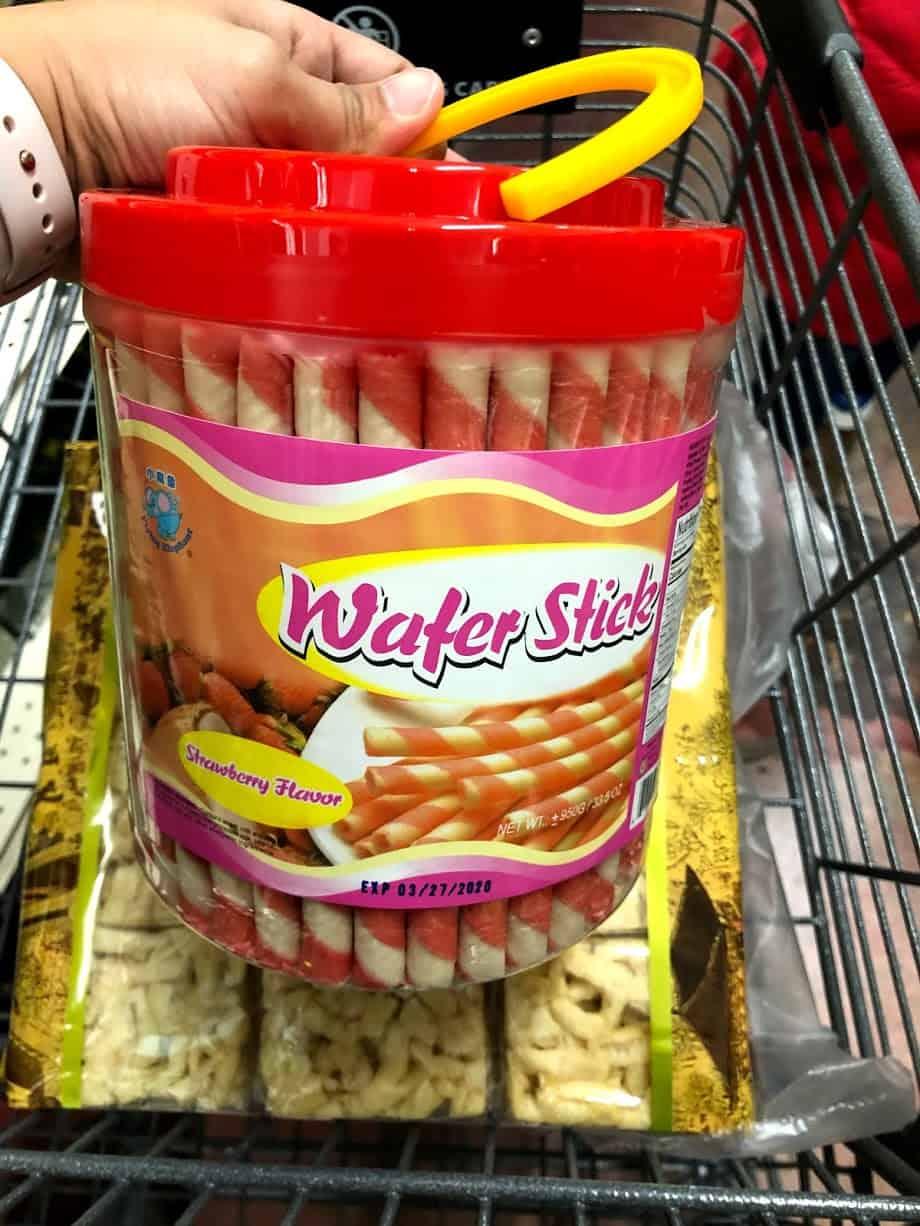 wafer sticks