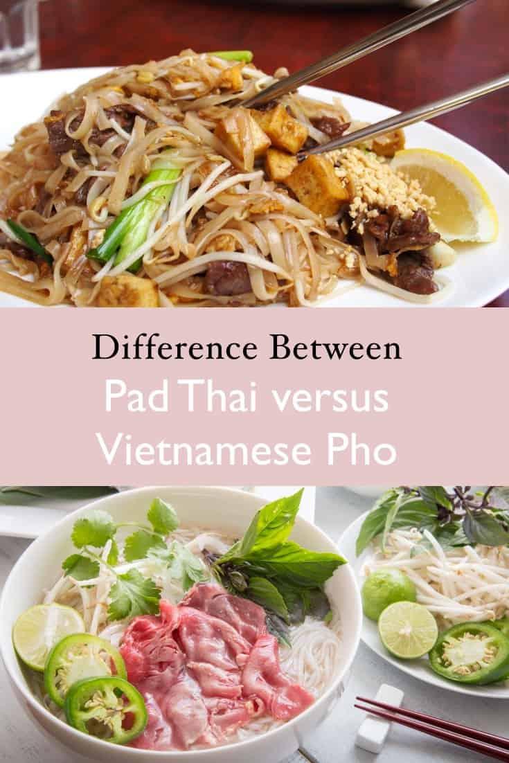 Pad thai versus pho