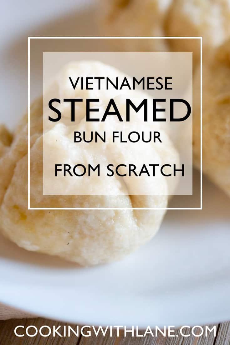 Vietnamese banh bao flour homemade