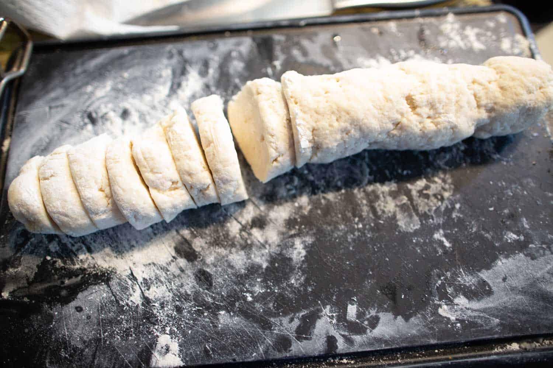 banh bao dough flour