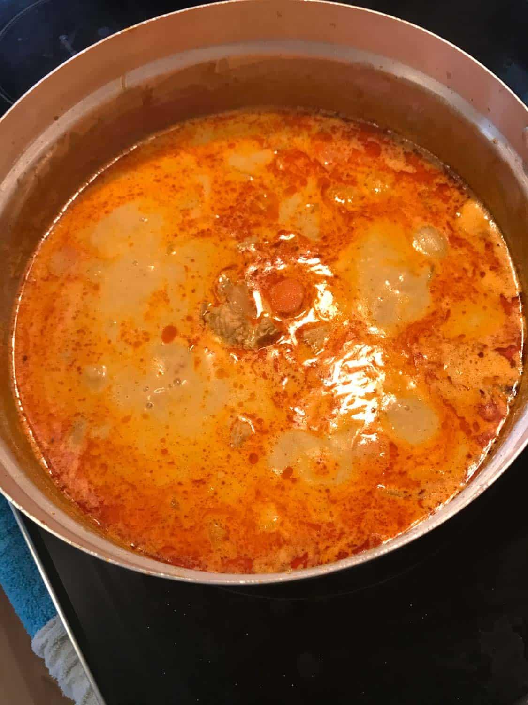 kaeng kari kai thai yellow curry 005