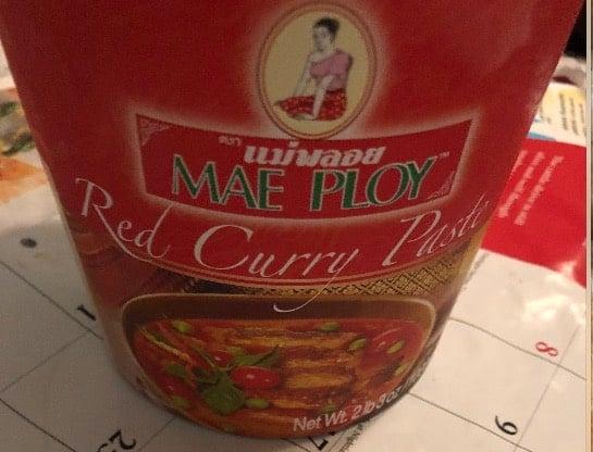 thai kaeng kari kai curry