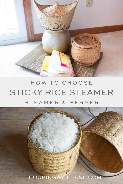 Sticky Rice Steamer and Server