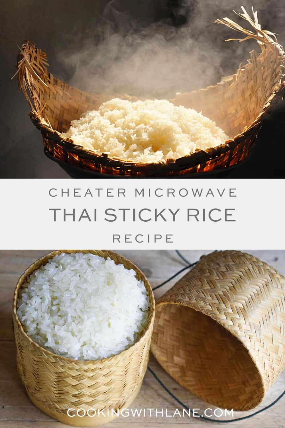 sticky rice in the microwave
