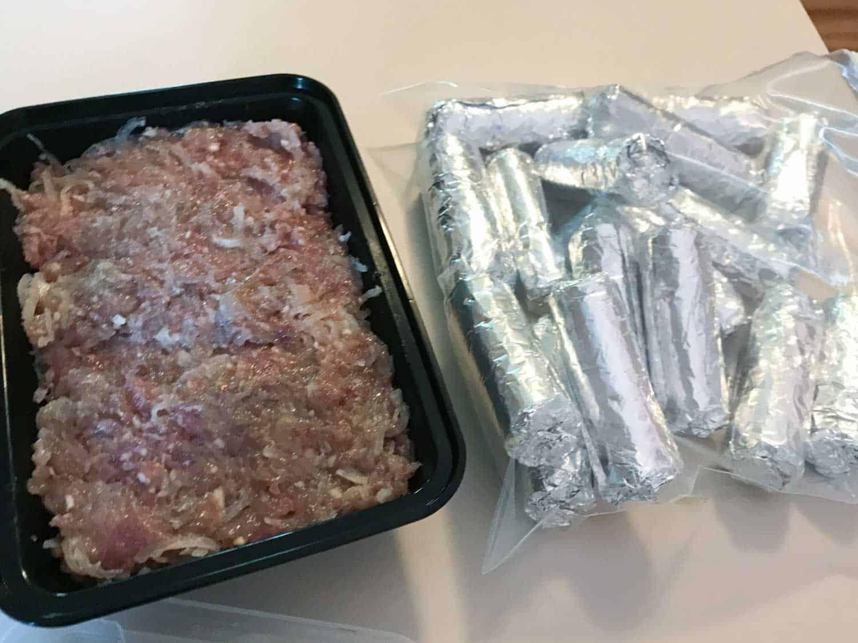 Som Moo Laos Sour Pork Sausage - Fermented Pickled Naem