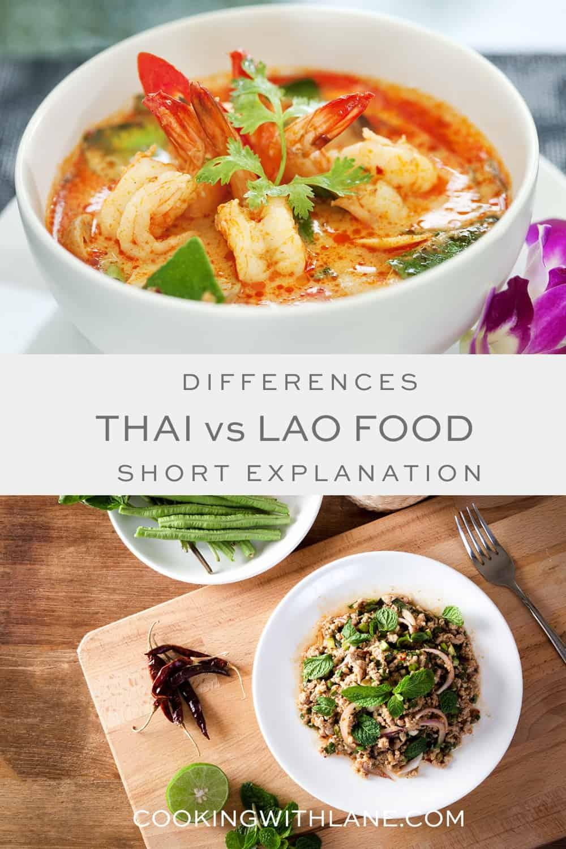 Thai food versus Lao Food