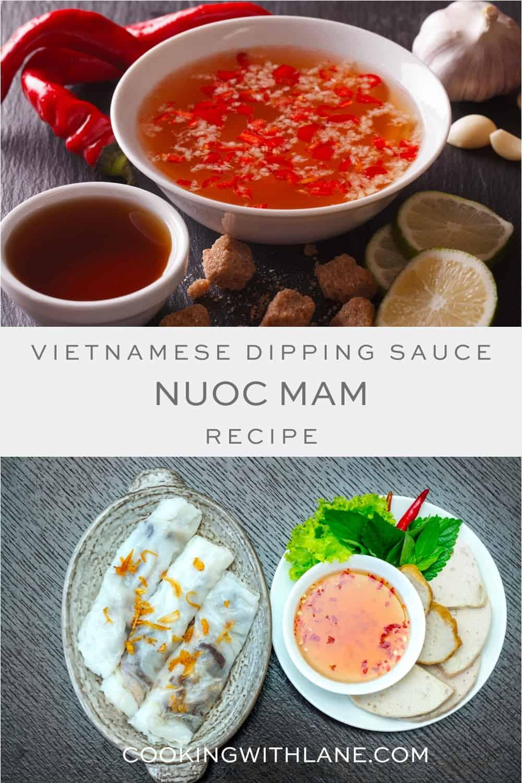 Vietnamese nuoc mam dipping sauce