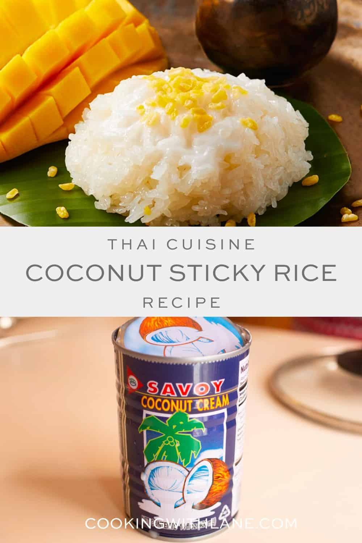 Coconut sticky rice recipe