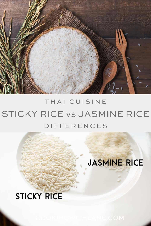 How to make sticky rice versus jasmine rice