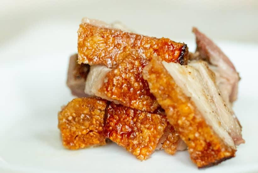 thit heo quay vietnamese crispy crunchy pork belly
