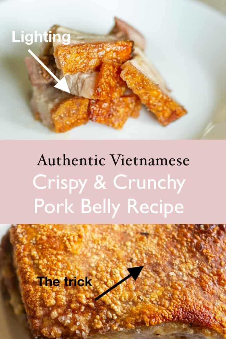 thit heo quay asian vietnamese pork belly crispy roast recipe