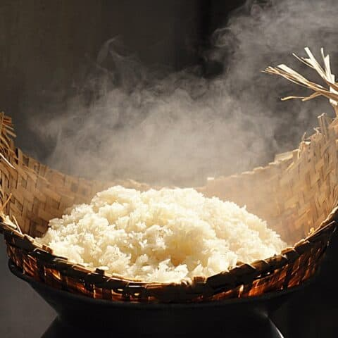 How to Clean a New Sticky Rice Steamer or Serving Basket