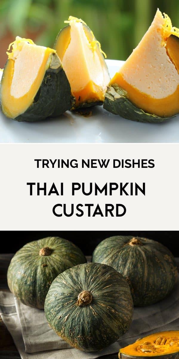 Sweet Thai pumpkin custard-1