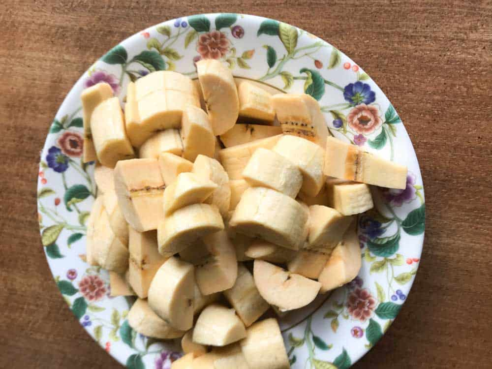 lao tapioca banana pudding with coconut