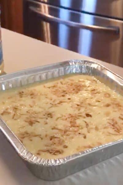 thai coconut custard casserole baked recipe