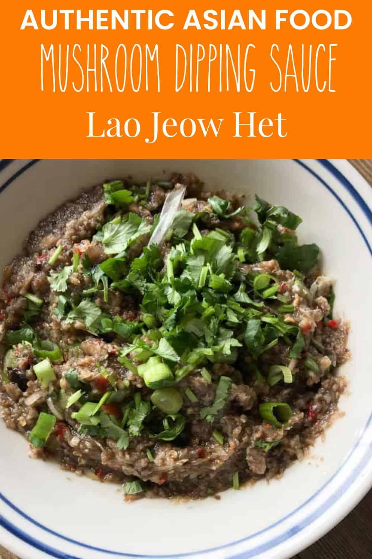 Lao Jeow het mushroom sauce
