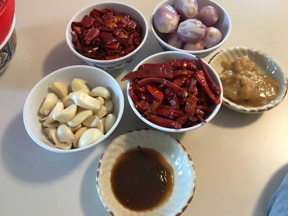 authentic lao jeow bong jaew dipping paste sauce