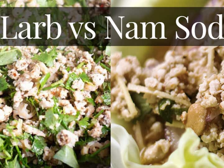larb vs nam sod comparison